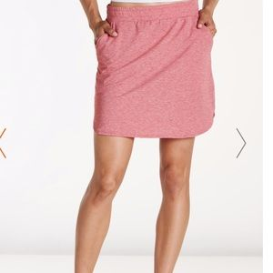 Toad & Co Swifty Trail Active Skirt Heather Guava